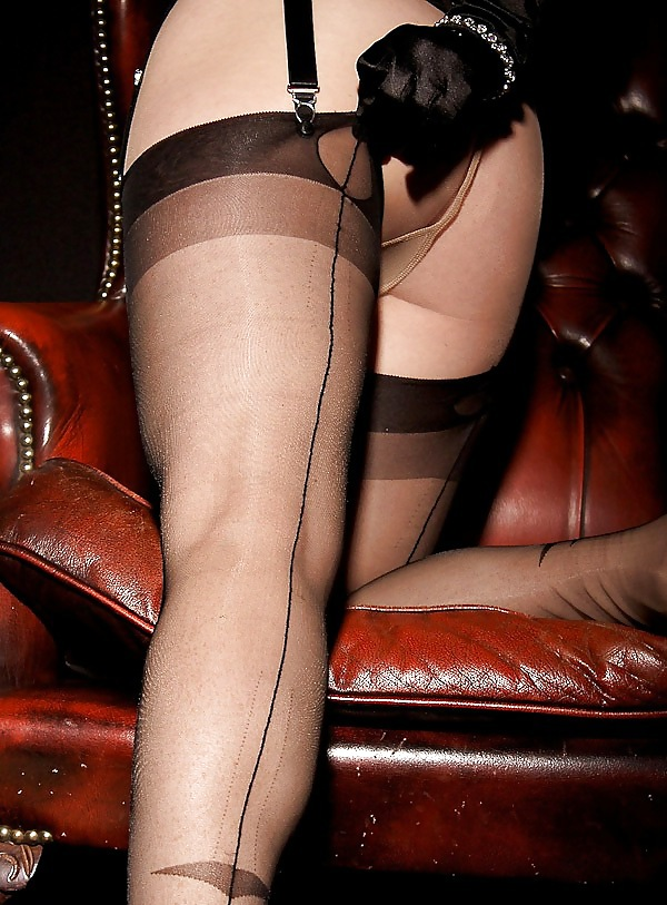 Vintage Stockings, Men Dress, Fully Fashioned Stockings