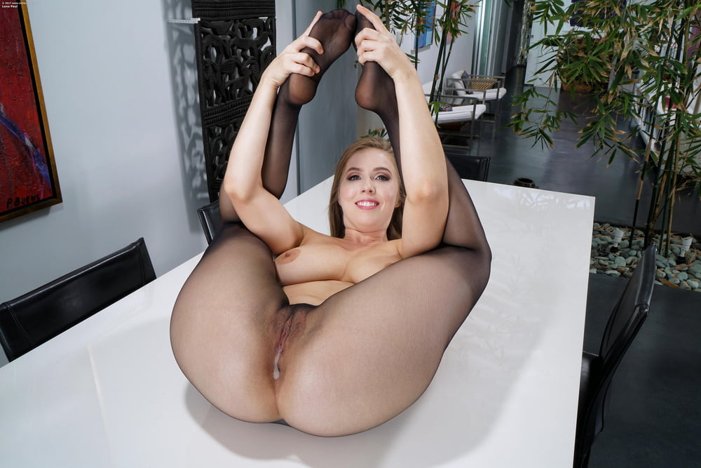 Stockings and pantyhose fake creampies 6 - 20 Pics