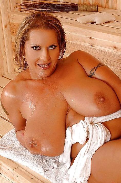 Nude big tits sauna nude mature