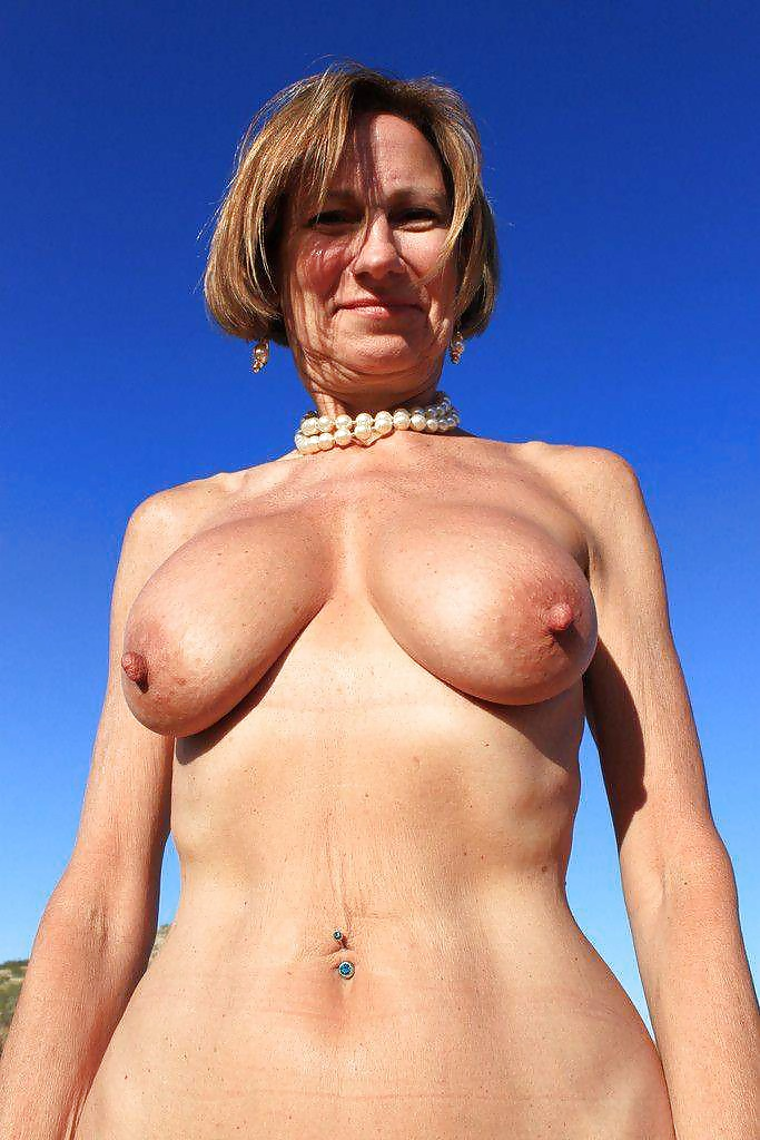Flat Chested Mature