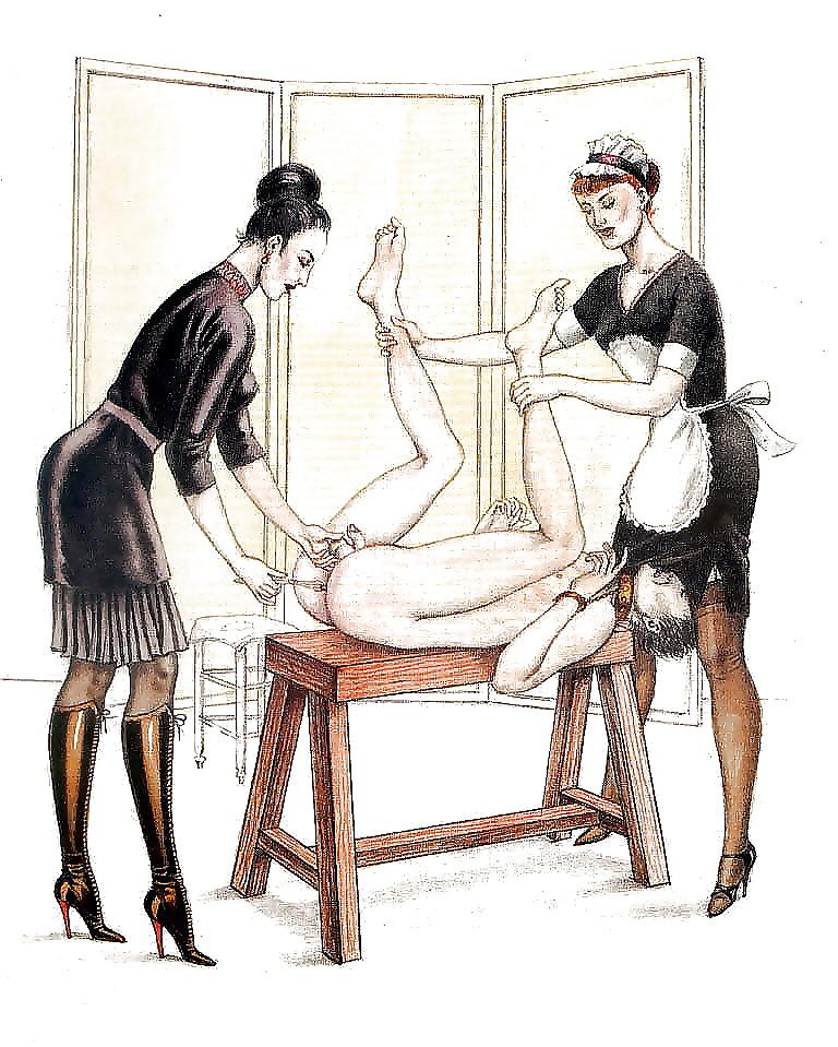 прекрасными формами женские ножки порно рисунки нам разнесли подали