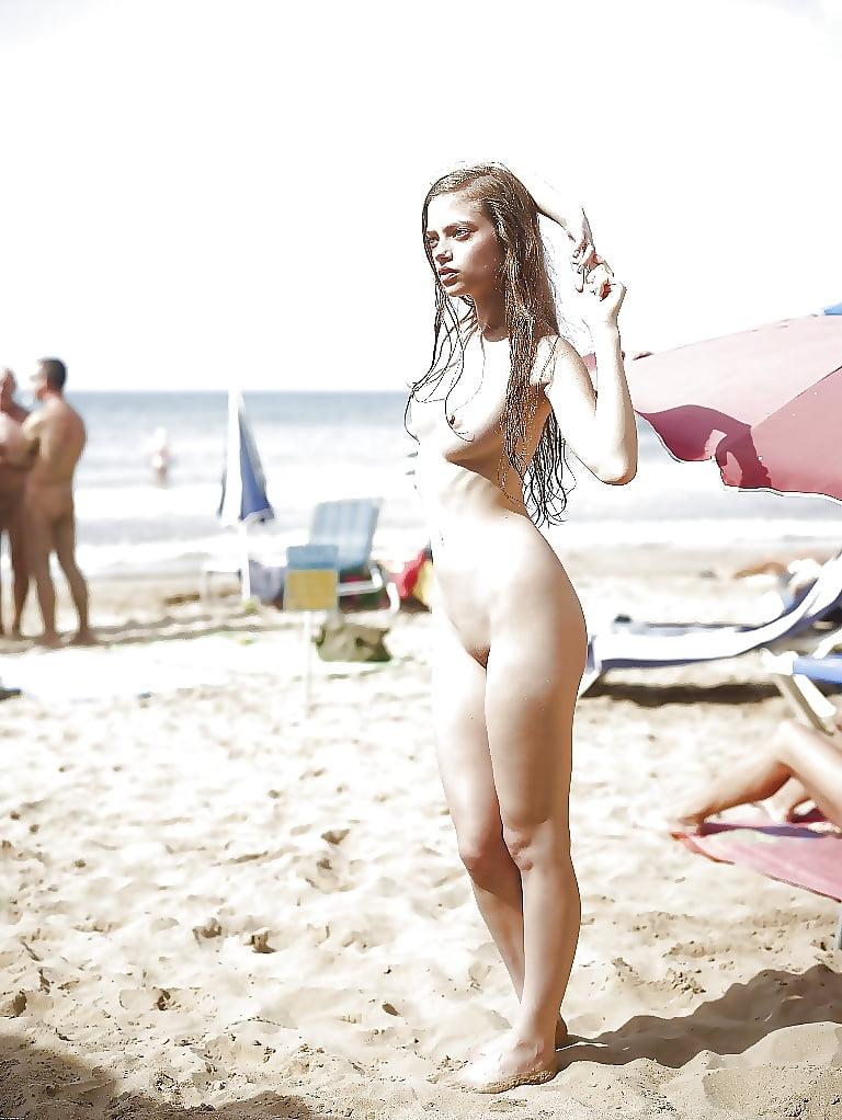 Beach naked babes-3768
