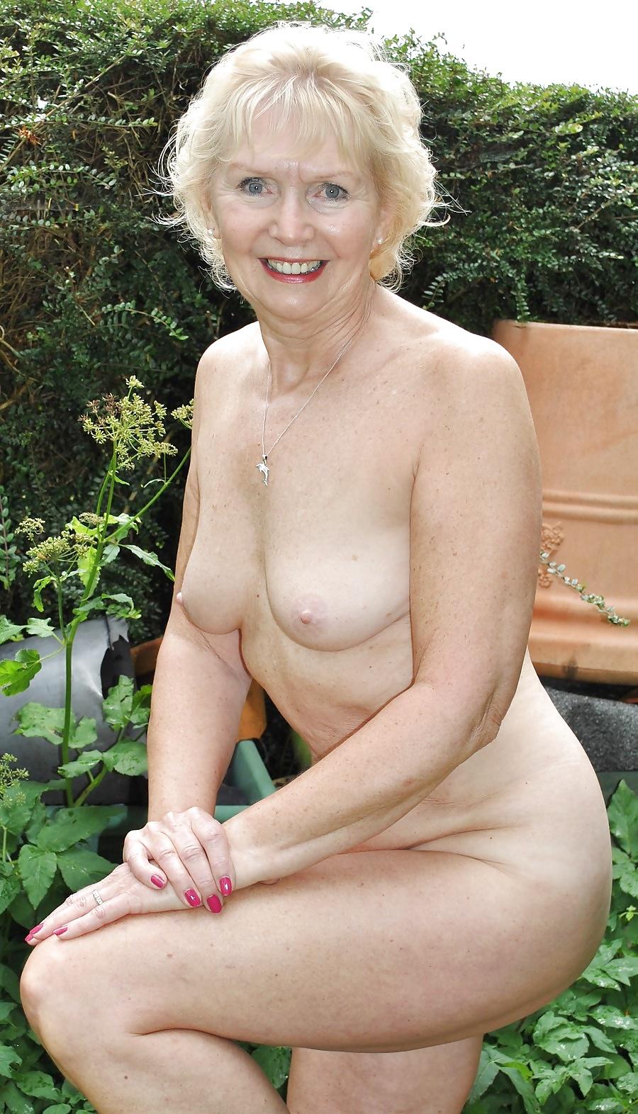 Hot Naked Granny