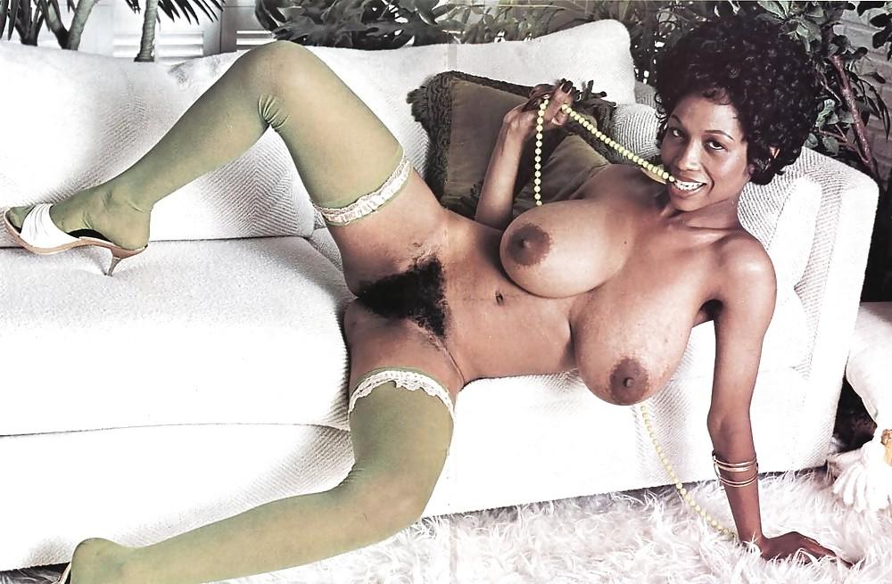 Vintage hairy ebony porn