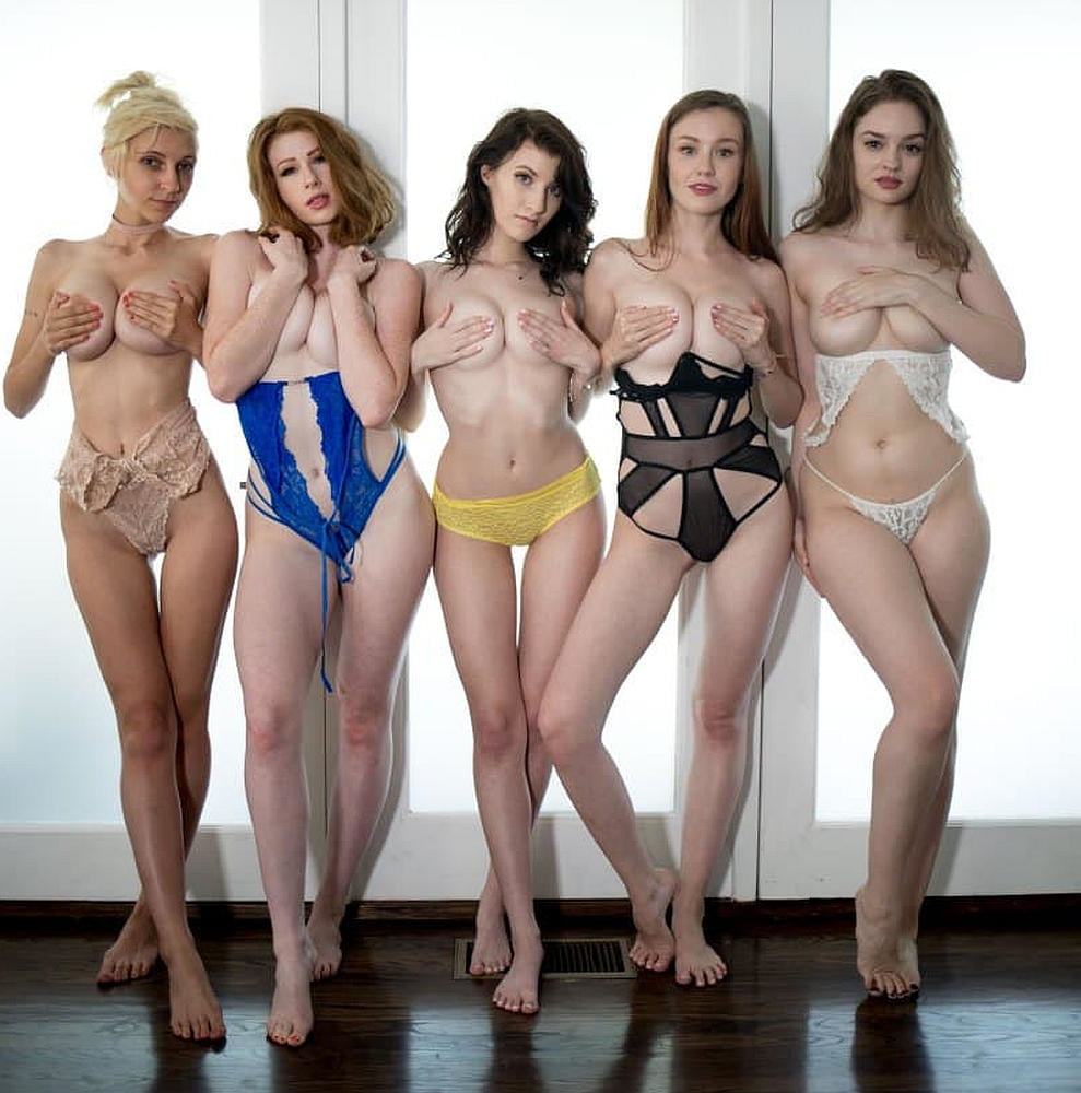 Naked Girl Groups 172 - Emlly, Juniper and Friends