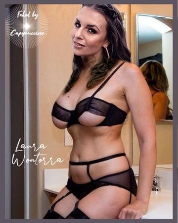 Wontorra nackt fake laura Laura Wontorra