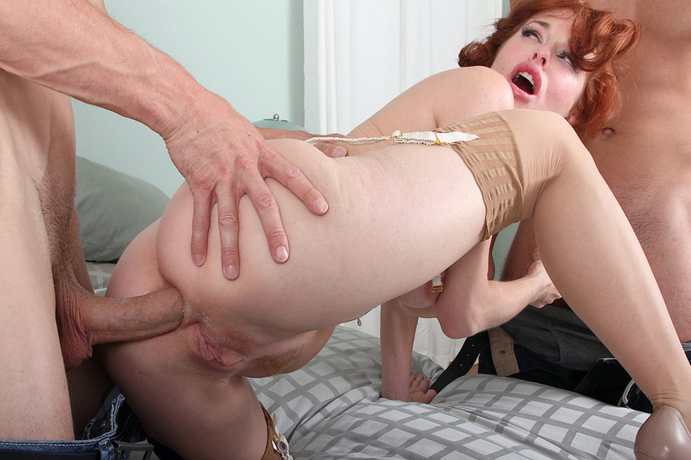 Redhead mature anal huge black boobs