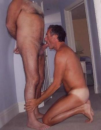 blow Mature jobs men