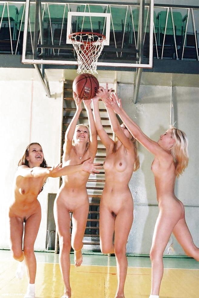 Basketball women naked with