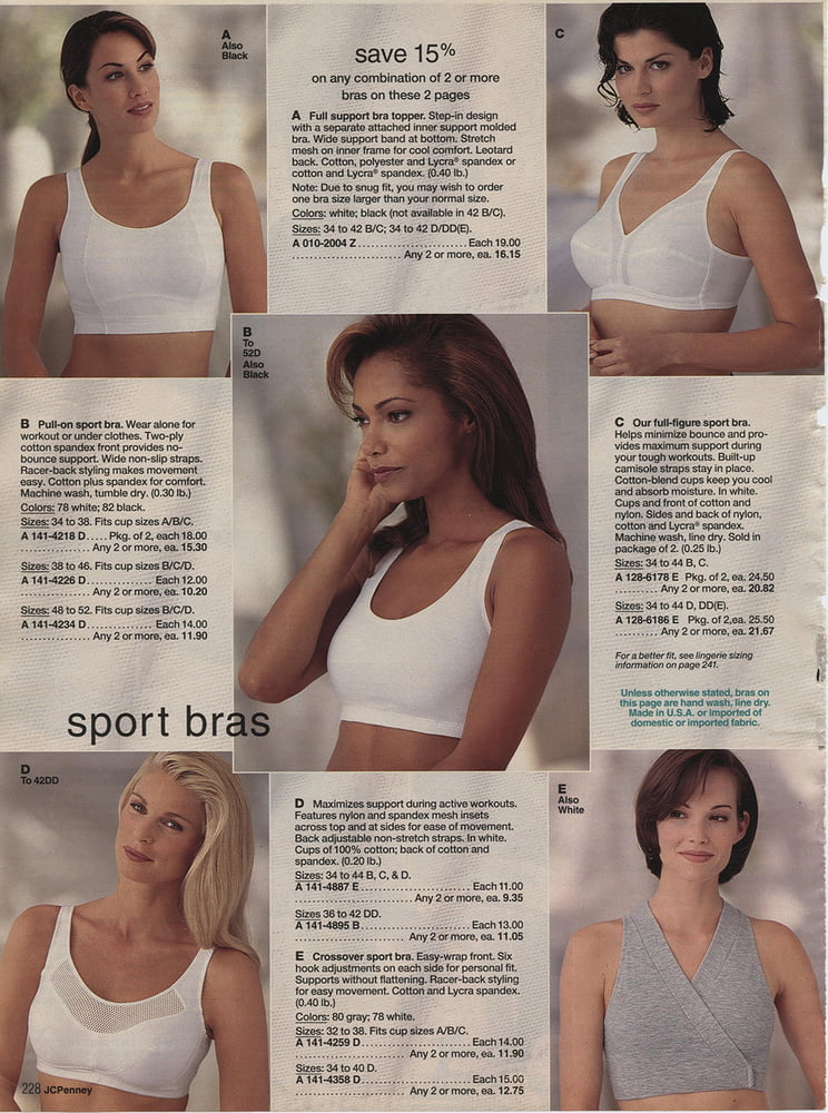 See and Save As spring summer jc penney lingerie catalog