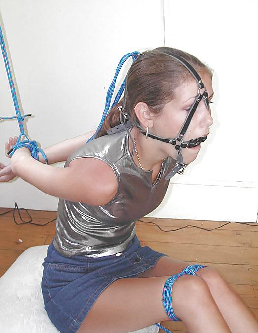 Rope bondage teen hot petite little tiny