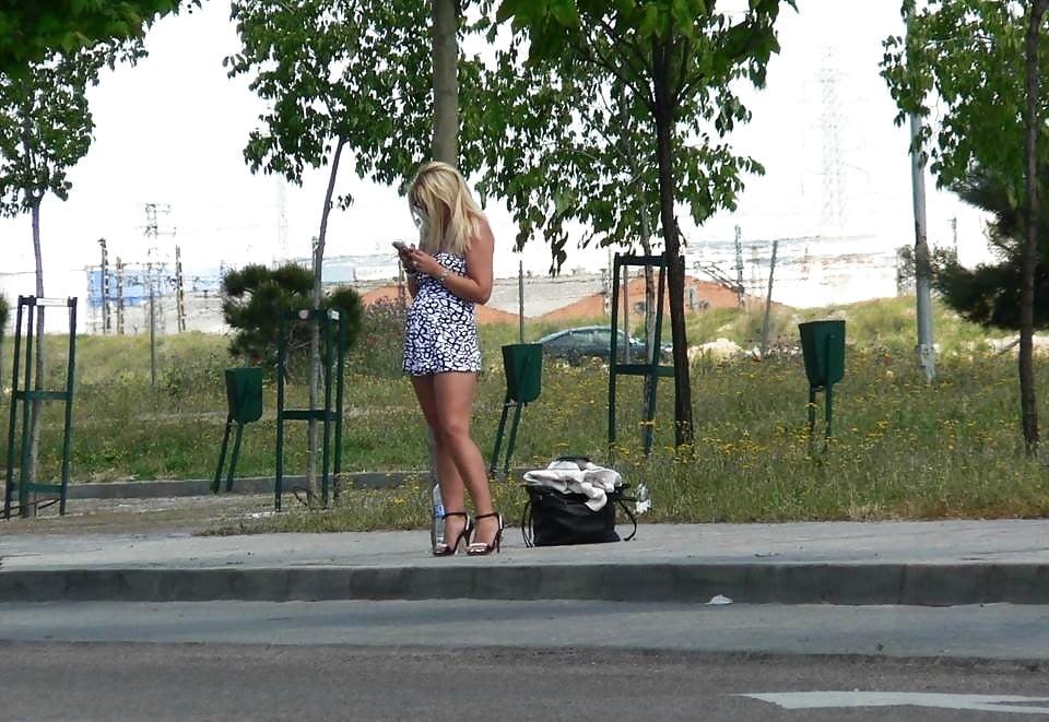 Street corner porn