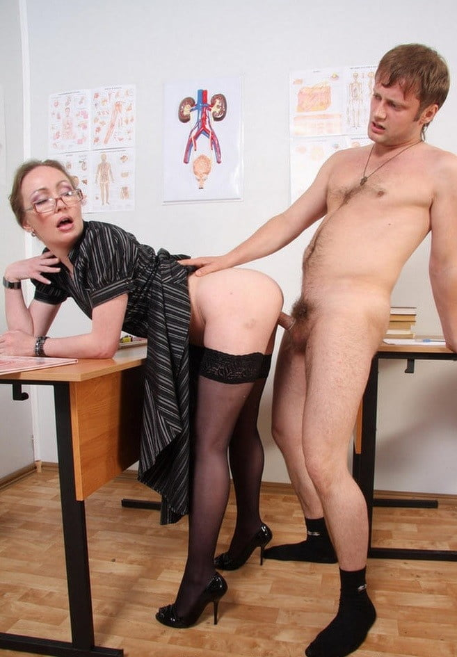 Naughty mature teachers