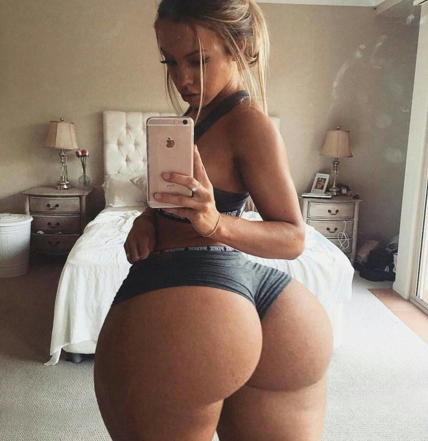 All Natural Big Ass White Girl Fucked