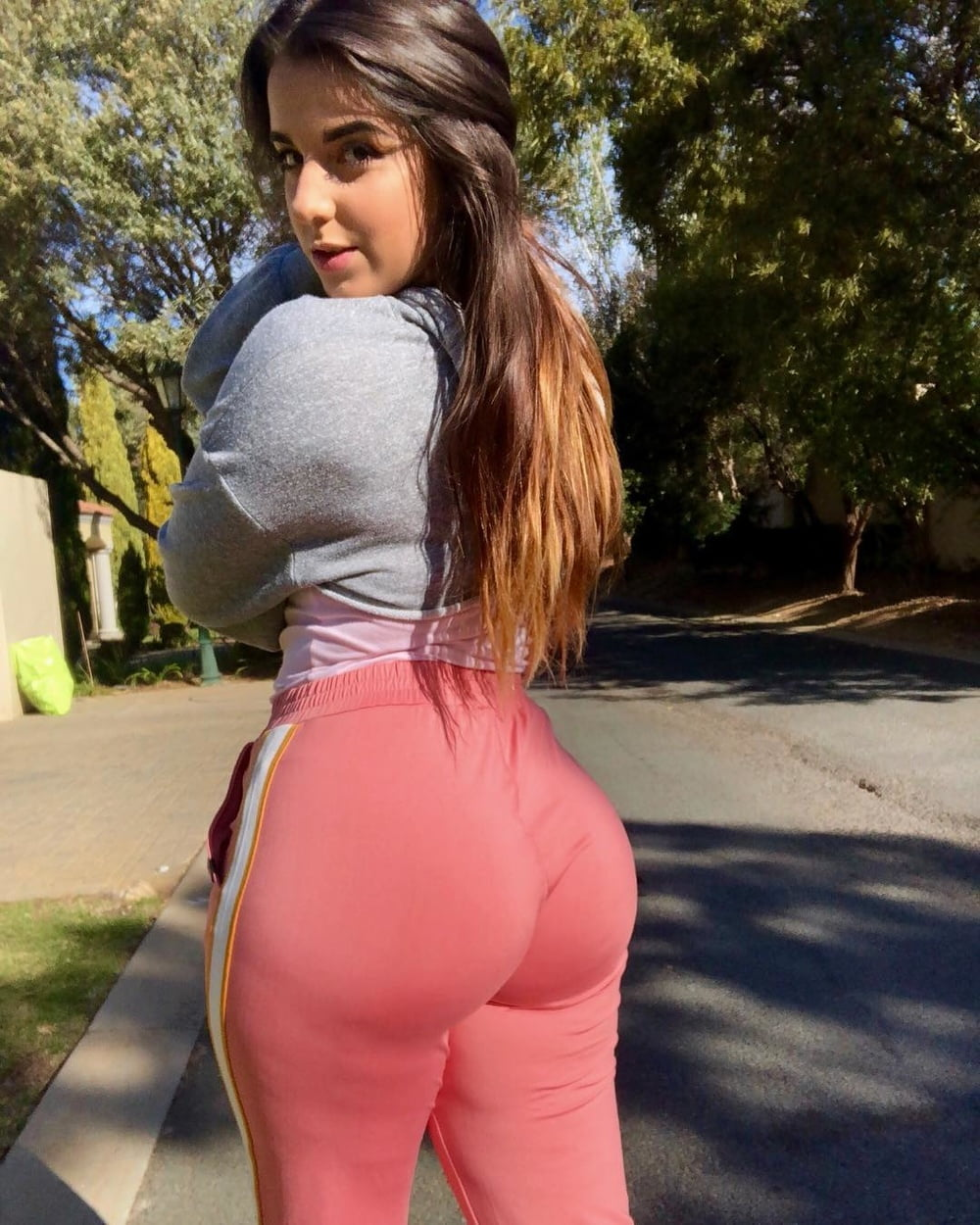 Big butt tight teen big