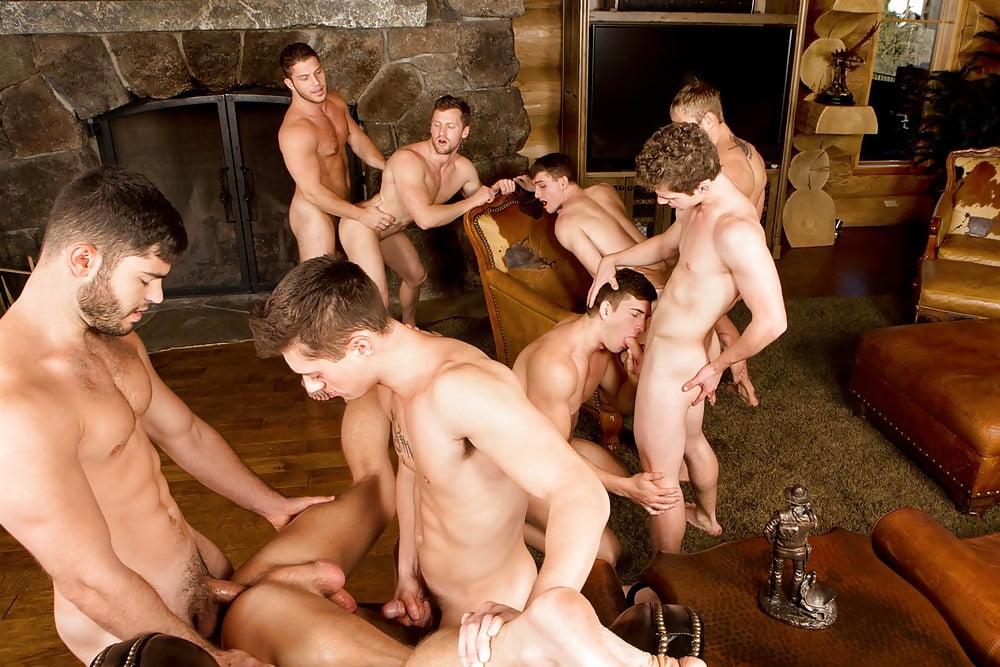 Orgy, interracial free gangbang, group sex porn having fun fucking together