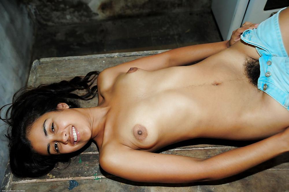 Extremely Dark Indian Women Nude