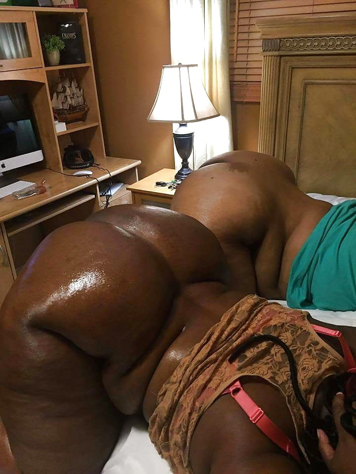 Fat ebony chicks