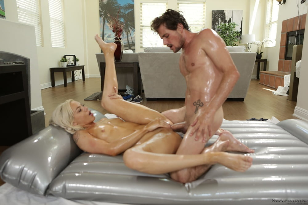 Sexy blonde staci carr enjoys a good fuck on the massage table