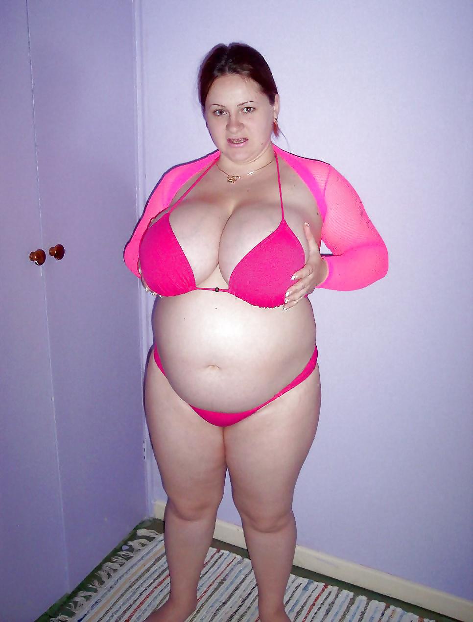 Bbw with tiny tits — 3
