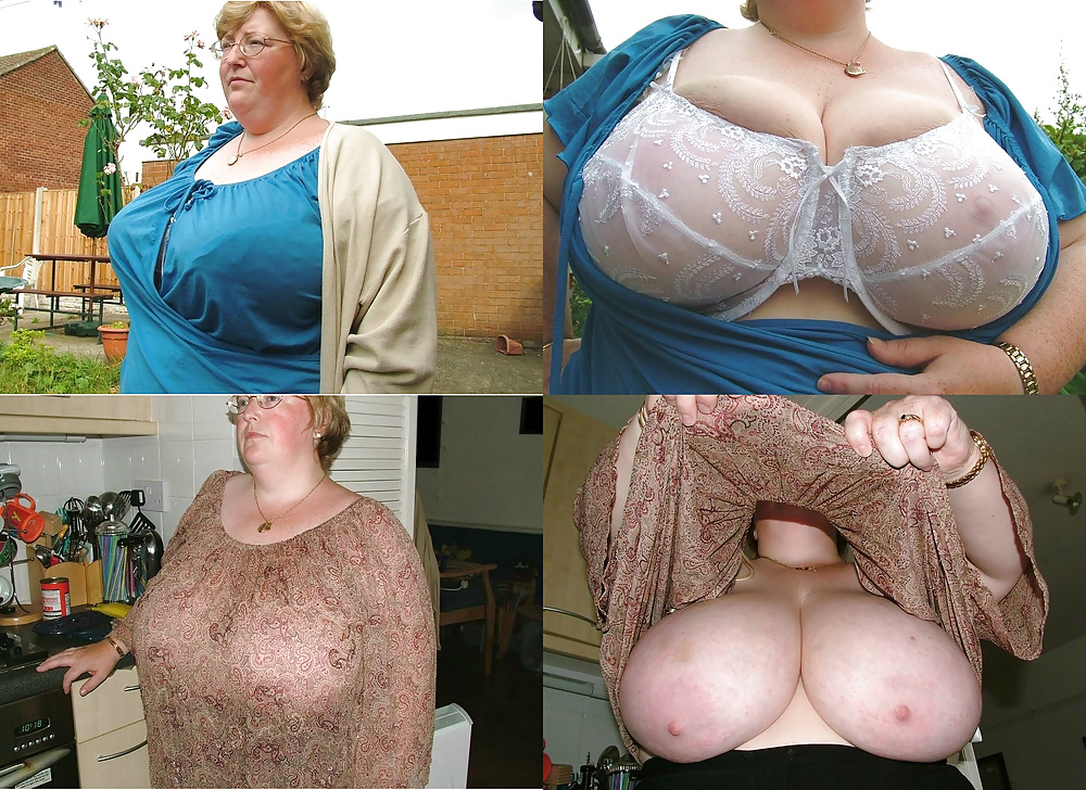 Grandma giant tits women