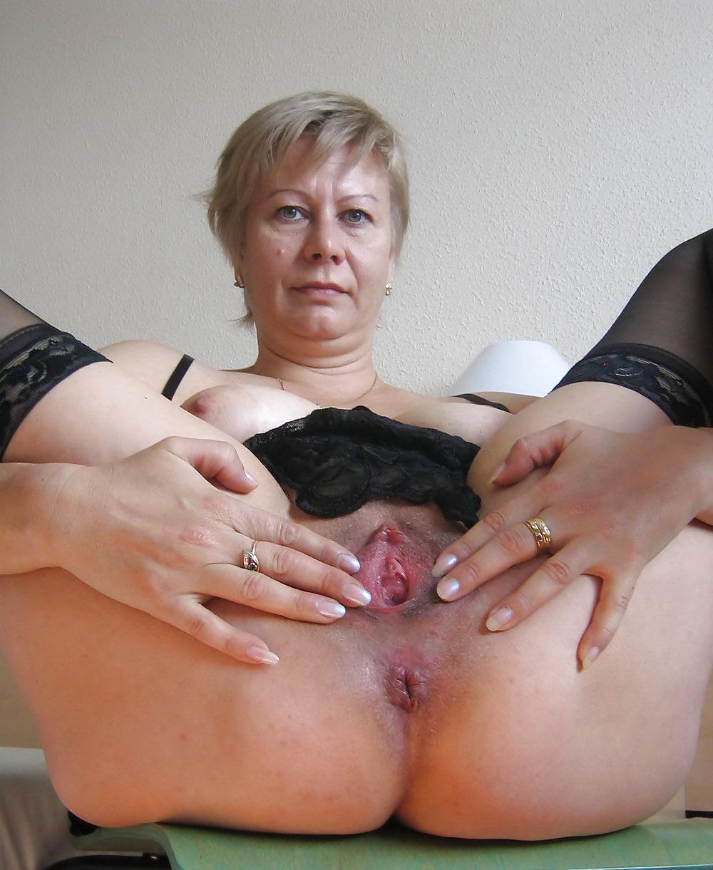 вагина зрелой русской