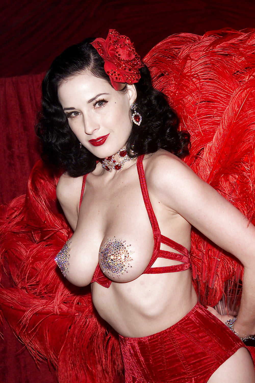 Dita von teese explains why its important to have mature women who are comfortable with sensuality