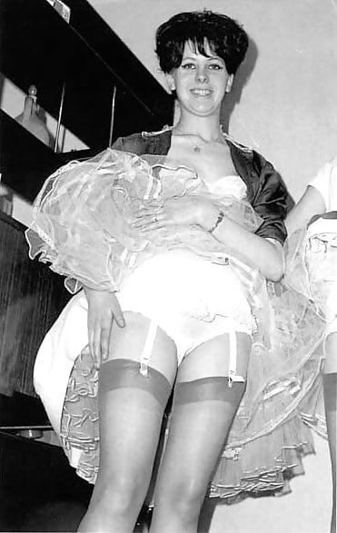 1950 1960 upskirt nylons Pics s