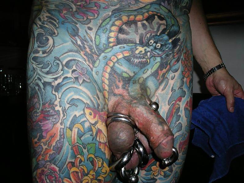 tattooed-cock-squirt