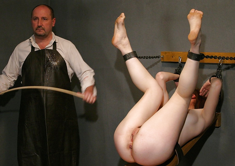 Erotic nude flogging