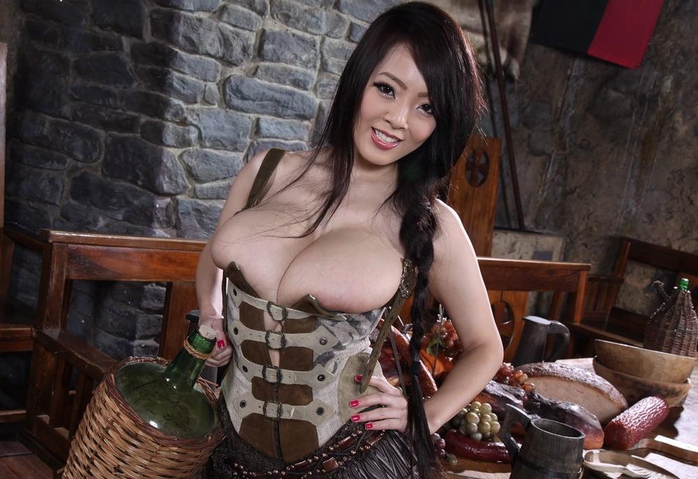 Busty brenda the barmaid serves pie