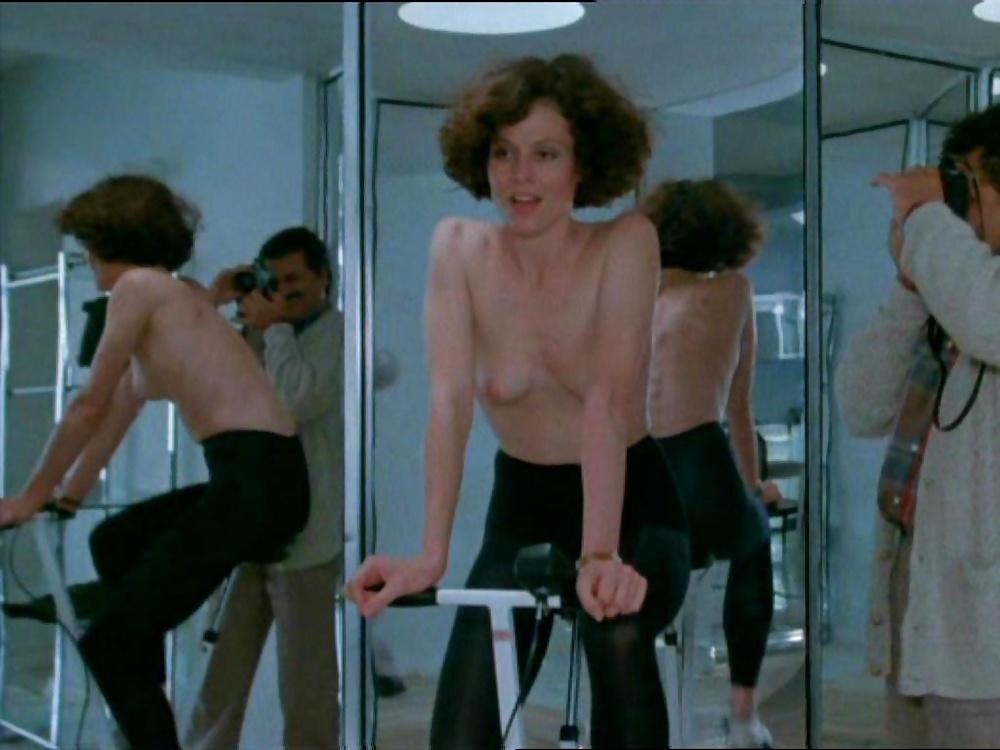 Lesbiens having pics of sigourney weaver nude perky