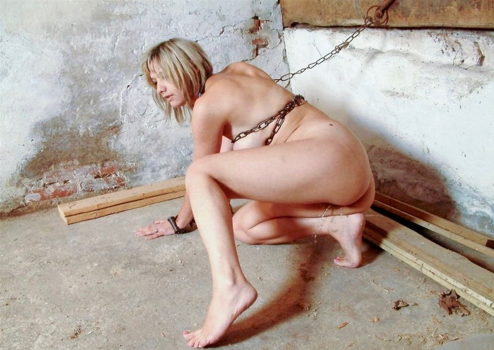 Bondage pee desperate