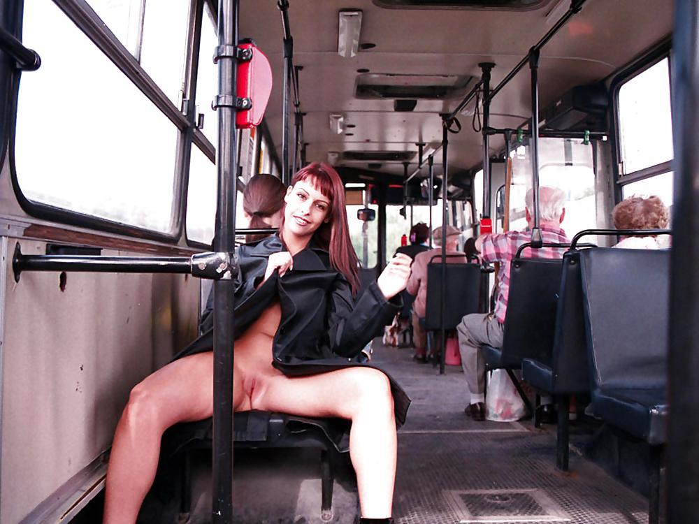 фото голых девушек в автобусах наслаждайся возбуждают девушки
