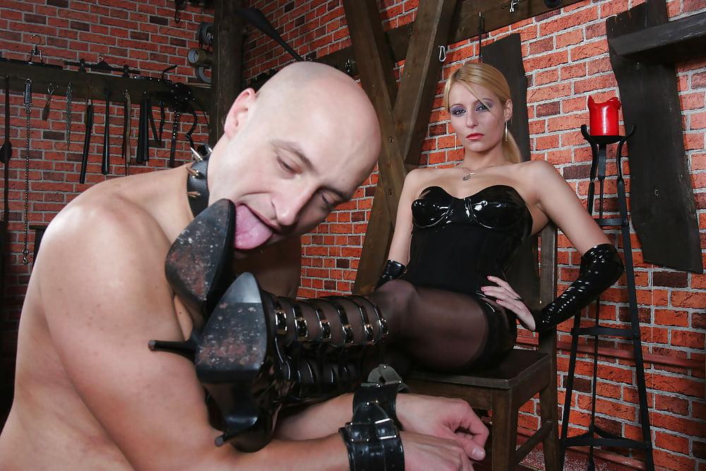 Femdom shaving slaves video — 6