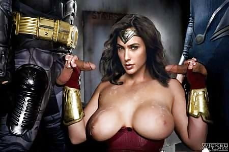 Deep fakes wonder woman