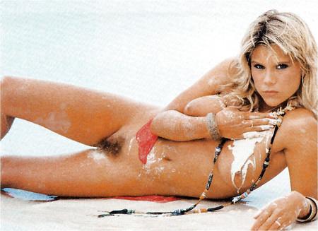 Samantha Fox Topless Sun