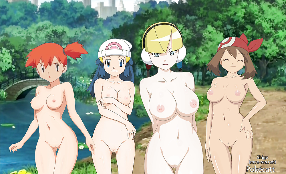 Pokemon naked being fucked