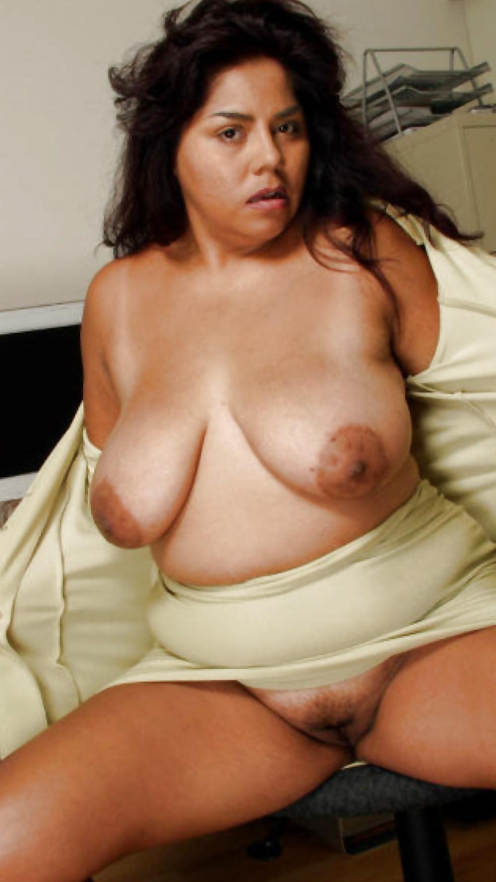 Latino mature big tits