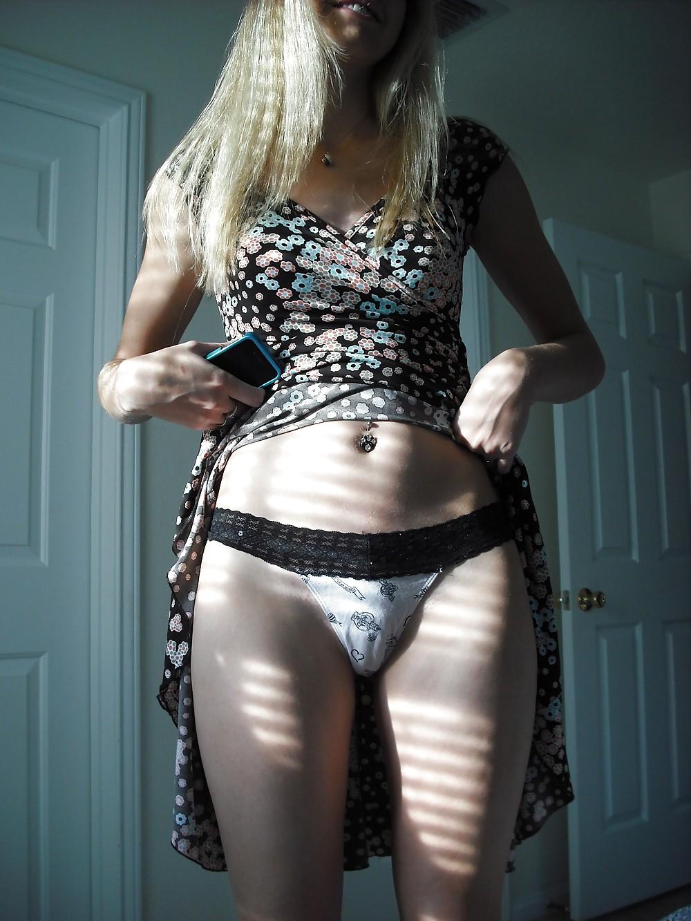 Beautilful california amateurs v14 nylon slips and panties - 2 part 3
