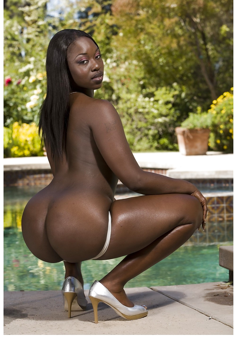 Black big booty naked pornstars