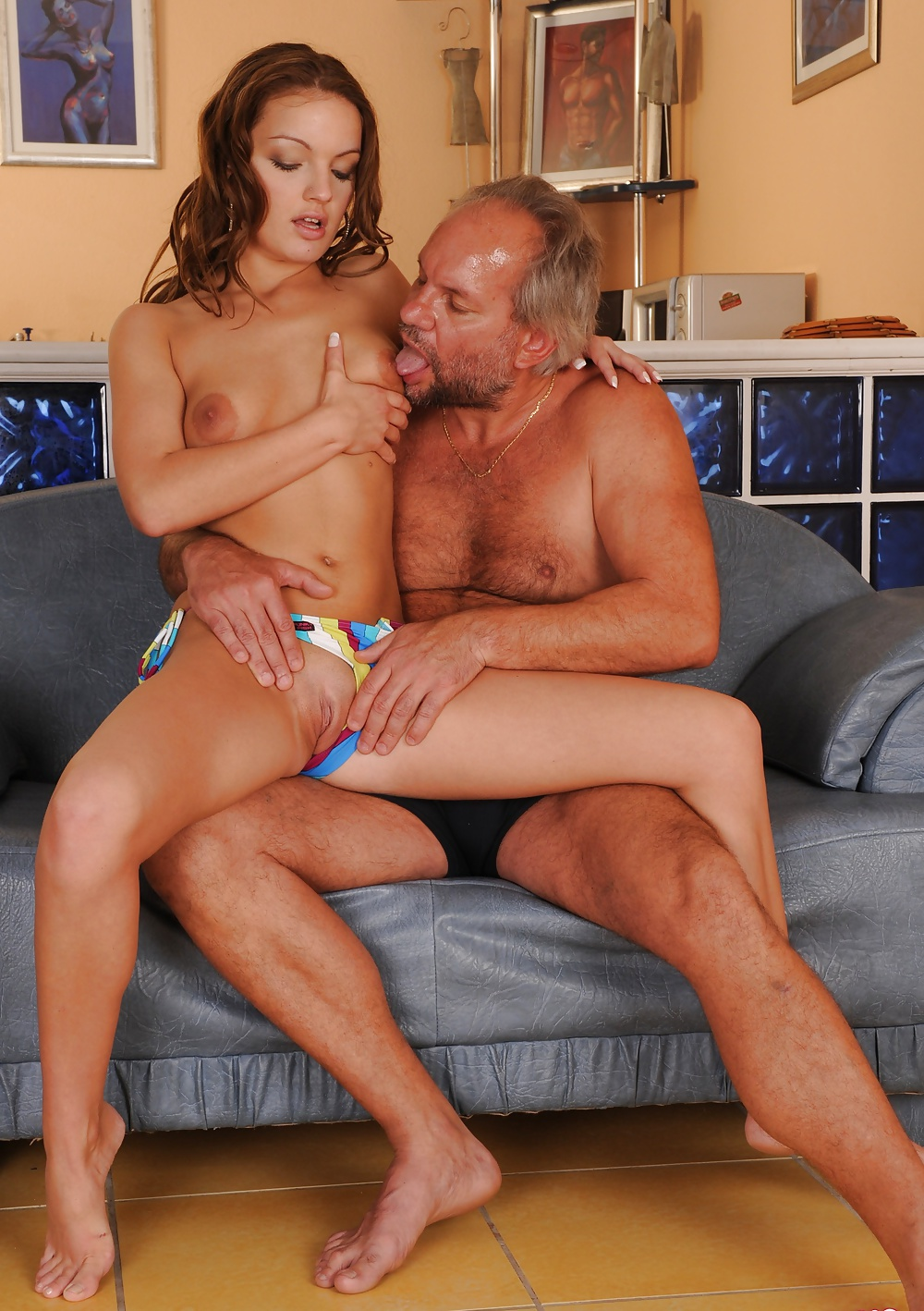 Teen grandpa on girl xxx tubu horny