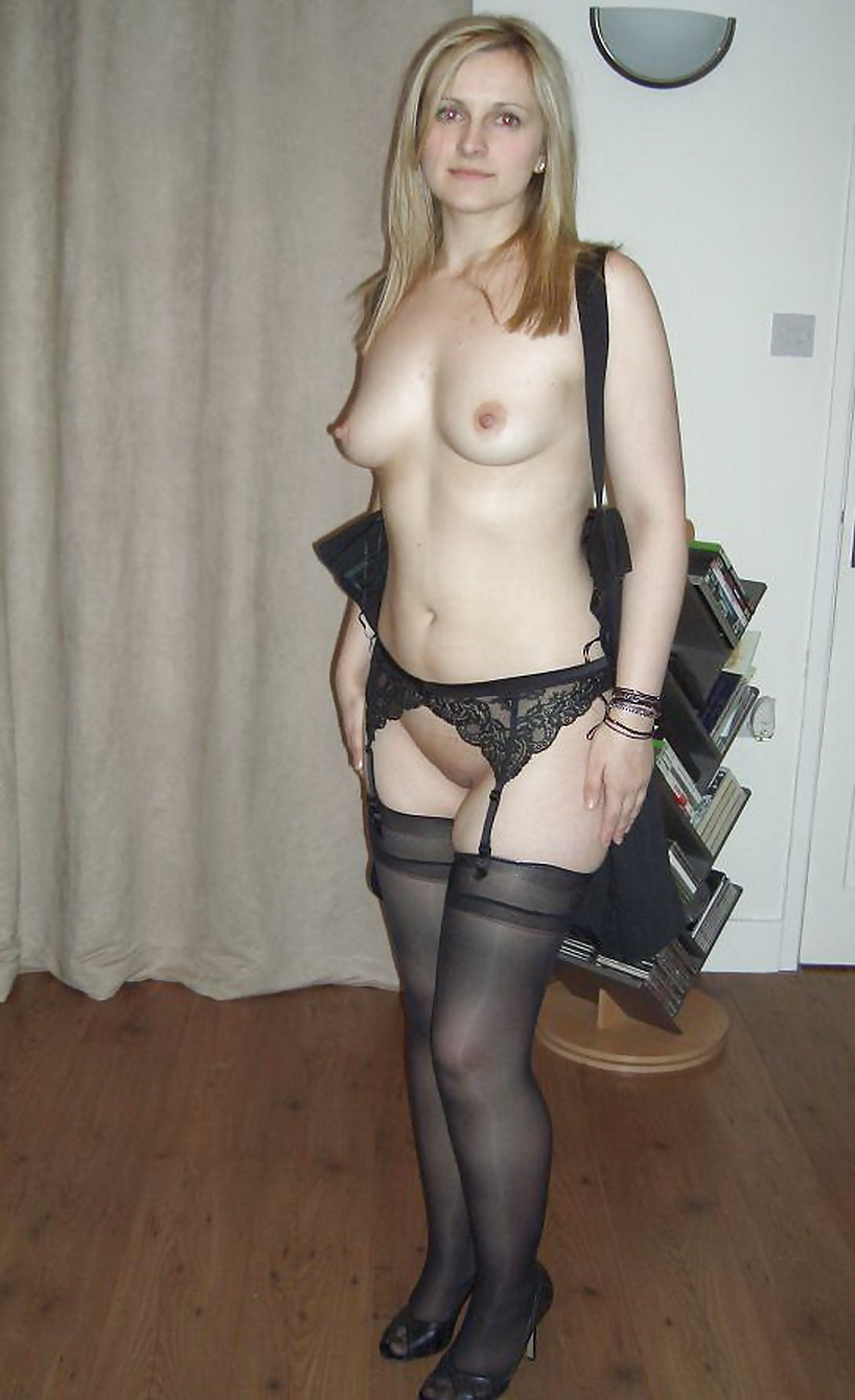 stockings Hot wives in