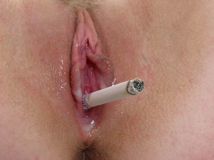 Women year old smoking long cigarettes pussy video