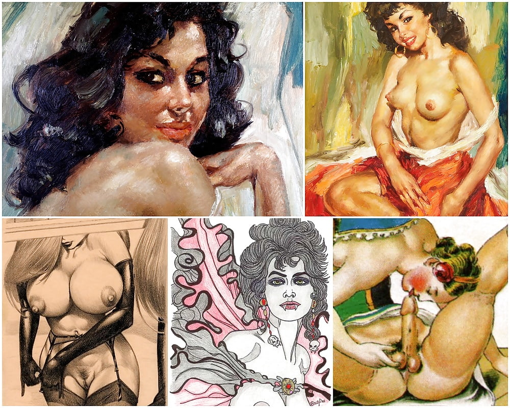 Collage porn sexy image, arab naked actress