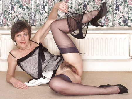 Wives in stockings