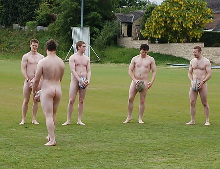 Tits Nude English Rugby Team HD