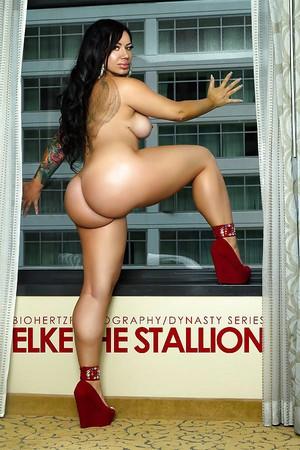 Elke the stallion nude