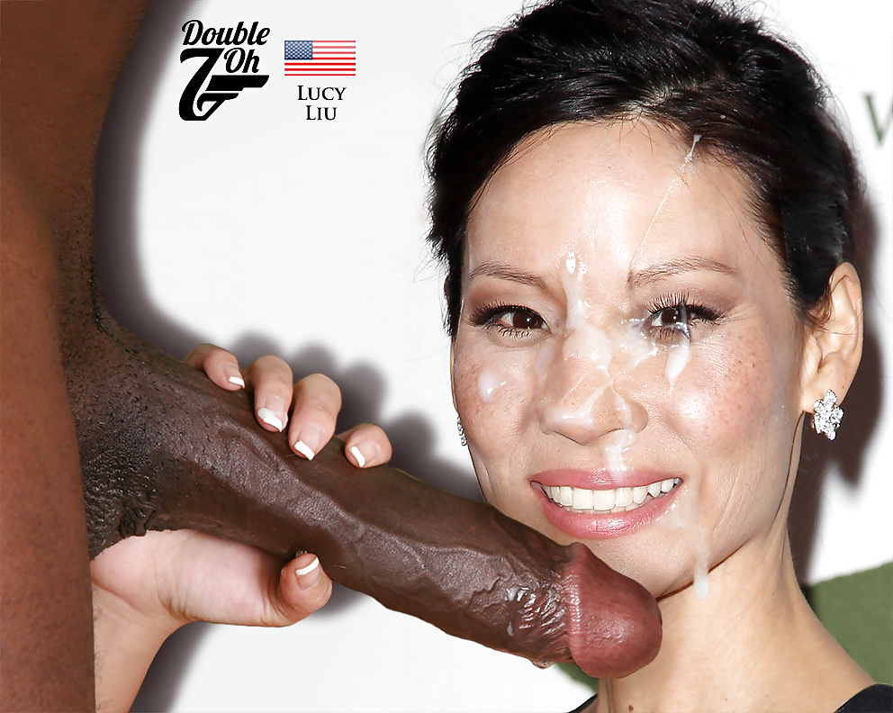 Lucy liu taking huge dick