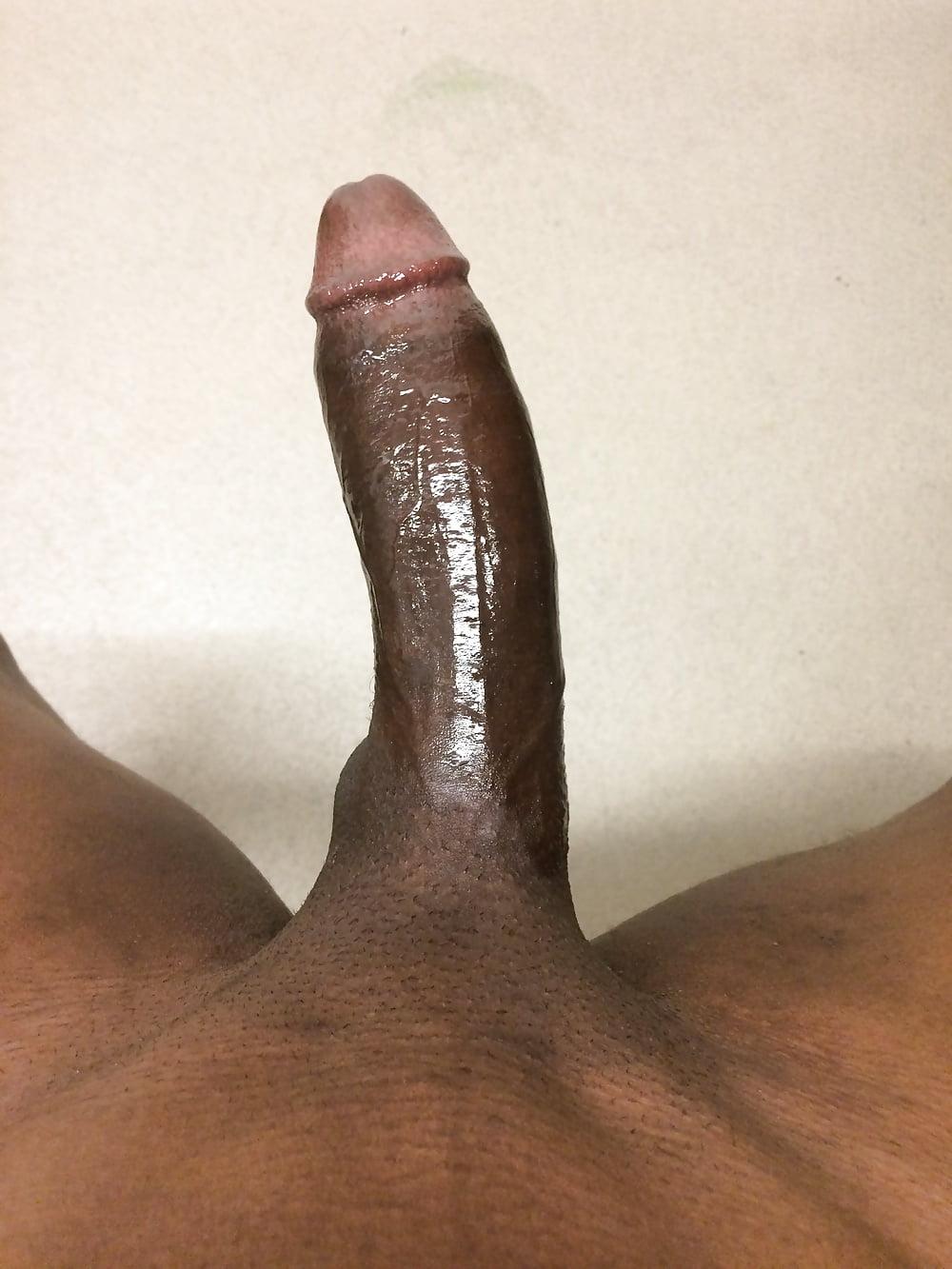 Big black dick uncut cock